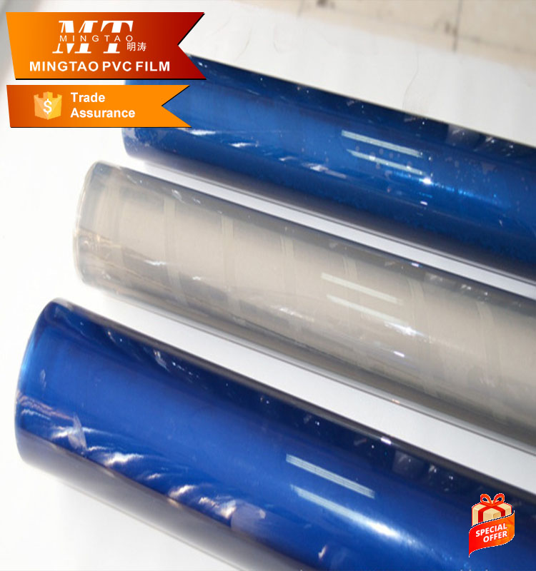 clear transparent plastic pvc packaging polythene bag for bed sheet in roll