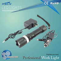 CE&RoHS approved rechargeable multifunctional high lument flexible flashlight