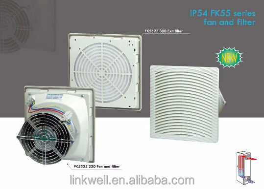 china wholesale cable box control panels extractor fan filter unit, filter a fan