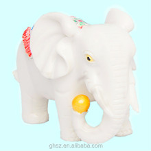 Hot sale popular plastic indian elephant figurines for decor