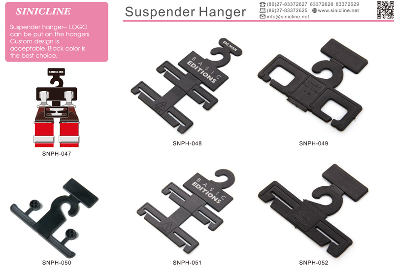 Custom made high quality and durable cardboard hanger for clothings