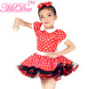 New Design Beautiful Red School Dance Dress For Kids