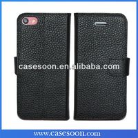 5C leather case,Book Style High Quality Real Leather Wallet Case for iphone 5c Cover Card Holder Phone Case