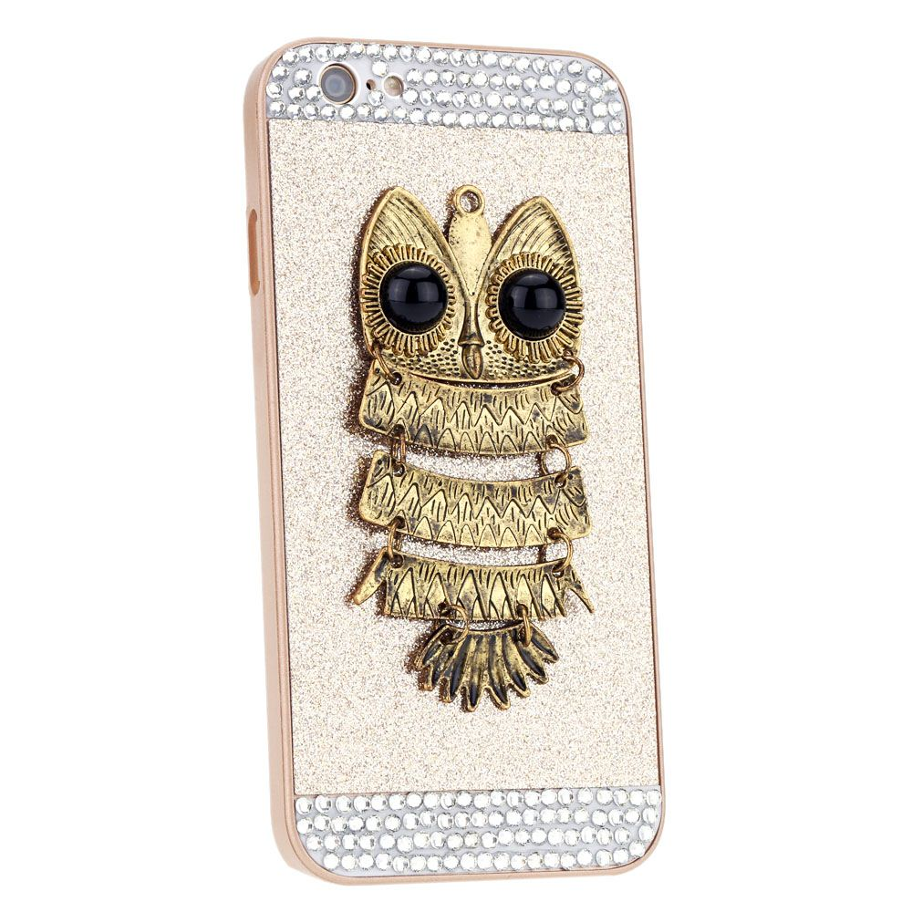 "Big Sales Personalized Protective Phone Case Hard Back Cover Skin Gold Giltter Luxury Crystal For iPhone 6 6s 4.7"" Durable"