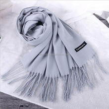 Christmas fashion accessories Cashmere scarf poncho shawl winter autumn scarves Luxury pure wool long thick scarf warm