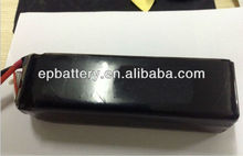 Rechargeable Lipo Battery 22.2V 30C 16500mAh 6S2P For Multi Rotor Helis