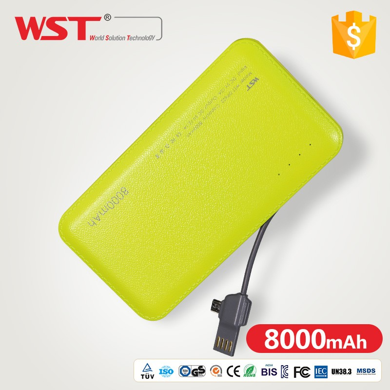 Hot selling Dual IC protective system qc3.0 power bank