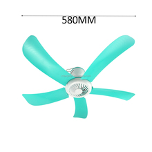 China Cheap price energy saving AC electric plastic mini 110V ceiling fan with retractable blades