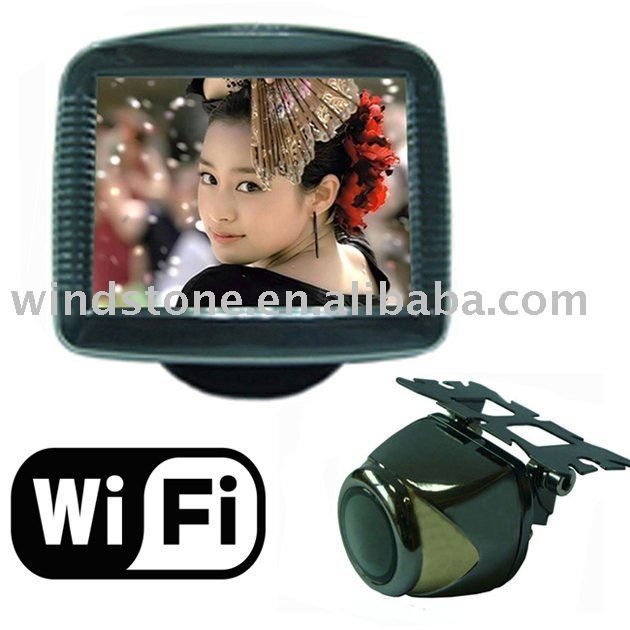 3.5 inch TFT monitor with back view Camera