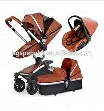 China Baby Stroller Manufacturer 3 in 1 baby carriage same quality hotmom baby pram