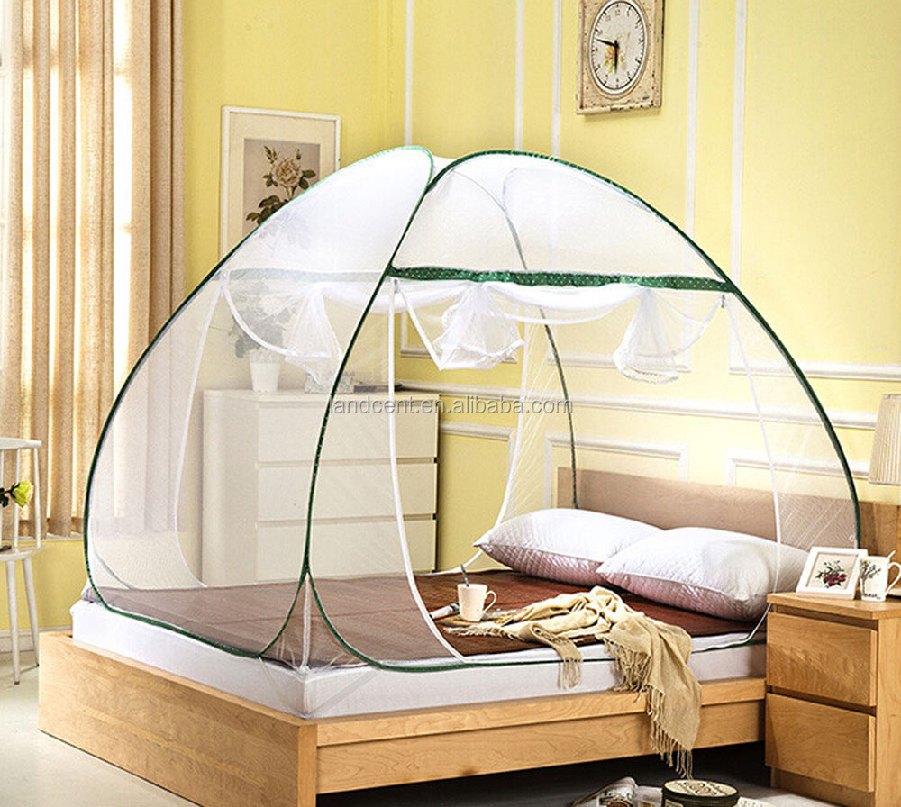 Stand up Tent High Quality Stand Zipper Pop up Double Bed Mosquito Net Tent