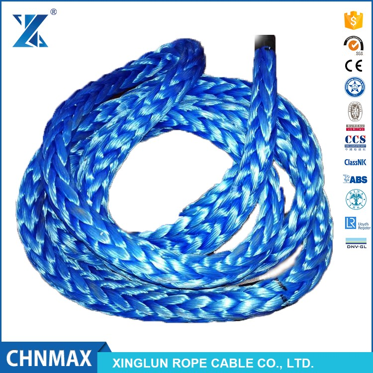 HMPE for offshore and industry sling single leg type rope