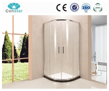 new design frameless clear glass sliding shower screen, shower enclosure cubicles