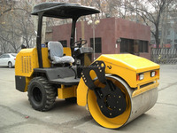 Self-Propelled 3 Ton Vibratory Steel Wheel Mini Single Drum Road Roller Manufacture In China