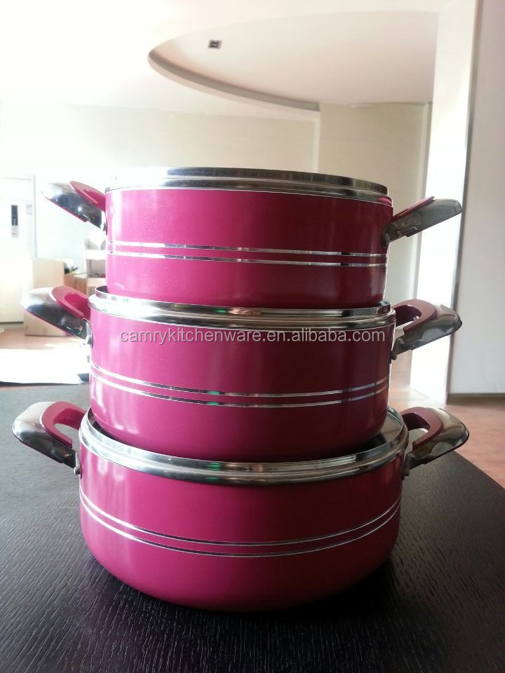 professional nonstick metal pot