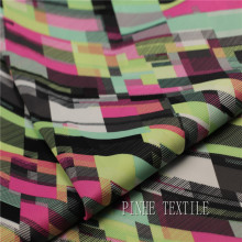 Modern design digital printed polyester fabric