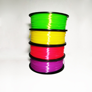 PLA 3d printing Silk Filament 1.75mm Polymer Composites Material with +/-0.03mm tolerance ldpe 3d printer filament