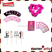 2016 Hen Party Dare Card Games Adult Sex Party Supplies for Hen Party