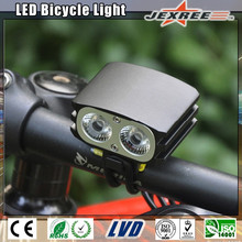 JEXREE OWL2 Aluminum Alloy Waterproof IP65 Long Runtime Rechargeable 2000lms XMK 2x LEDs Bike Light