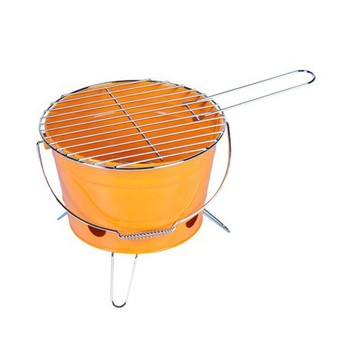 Metal hot selling portable charcoal bbq bucket Grill
