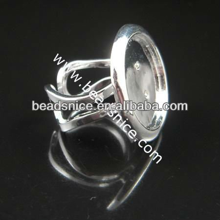 beadsnice 920 fashion jewelrysilver925 jewelry rings copper ring base