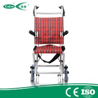Cofoe Cheap Aluminum Folding Outdoor Wheel chair
