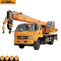 HIGH PERFORMANCE 7T Hydraulic TRUCK MOUNTED CRANE
