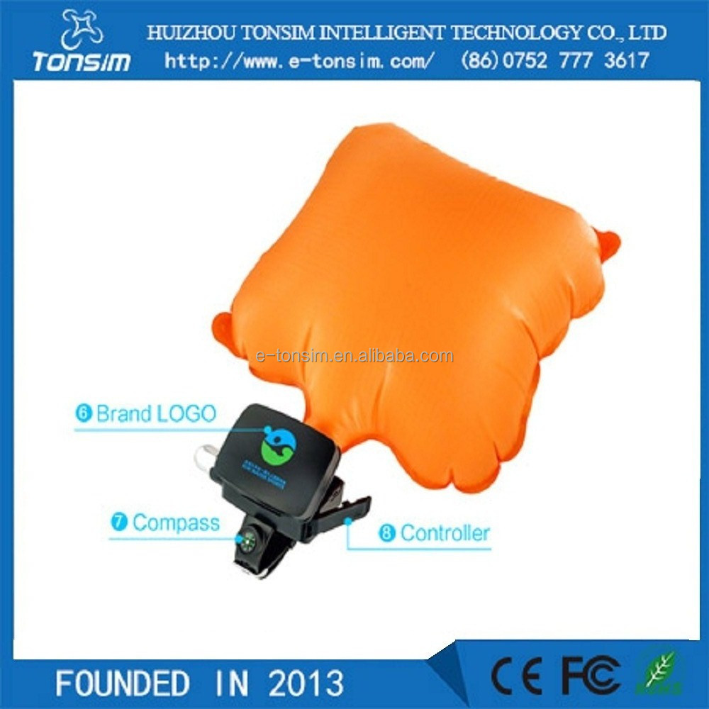 Tonsim Factory Price Self Rescue Lifesaving Prevent Drowning Wrist for Surfing Man