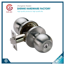 Adjustable tubular keyed like Light-Duty Commercial Entry door Knob lock
