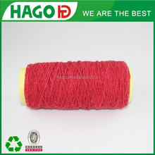 2s fair trade blended cotton yarn in recycled yarn for carpet