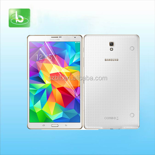 100% fit high clear for samsung galaxy tab s 8.4 screen manufacturer factory price mobile phone screen protector