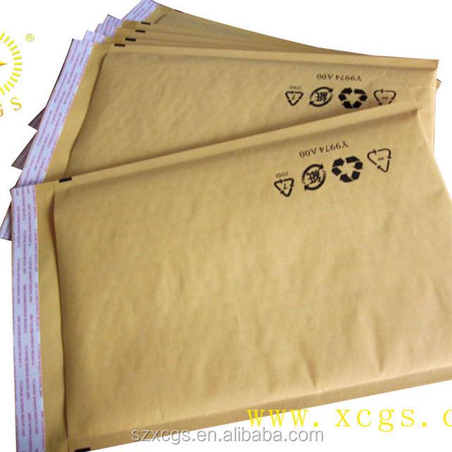 custom printed mailer boxes postal envelope / bubble video mailer