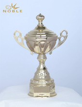 Souvenir Sports Award Gold Plated Metal Cup Trophy