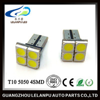 T10 5050 4SMD canbus w5w auto LED interior reading light for car