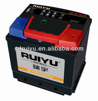 Strong ! DIN/JIS standard 12v auto battery for Mid East/Africa/Europe