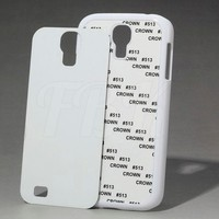 2D sublimation bulk phone cases for Samsung Galaxy s4, printing case for mobile phone cover for S4