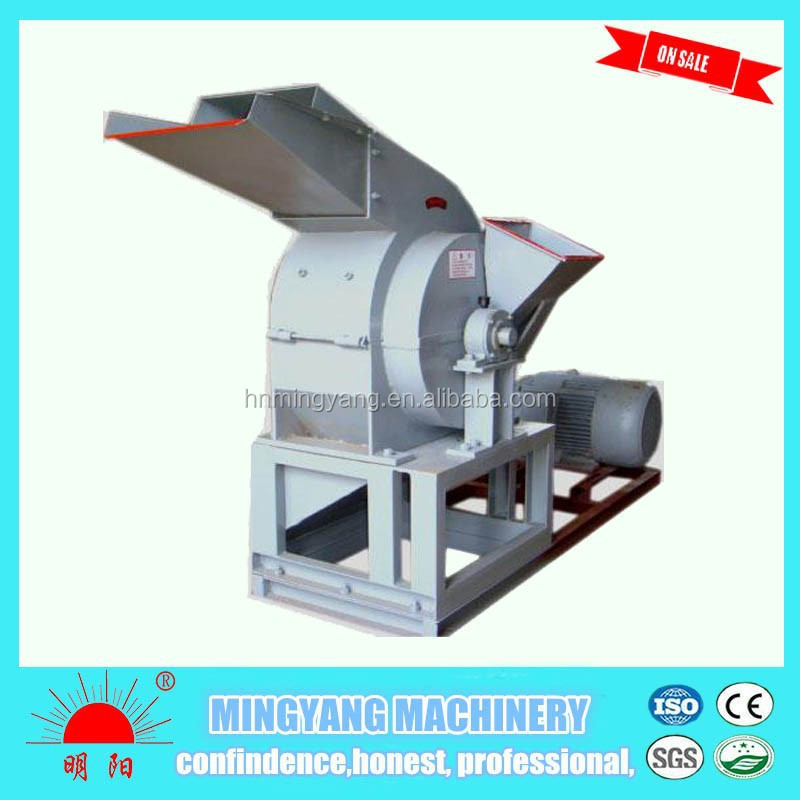 Factory <strong>price</strong> easy operate wood log 15kw high output chipper with CE approved
