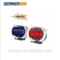 Senken motorcycle use 12V led light professional siren car wireless speaker
