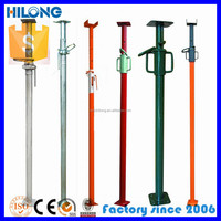 Steel construction stanchion construction for timber shoring system