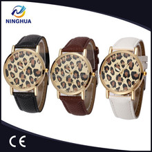 2015 new design geneva leopard western wrist watches