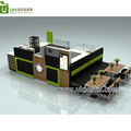 Retail shopping mall bakery display counter donuts shop counter design