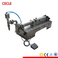 Hot sale small dose liquid fillng machine/sunflower oil filler with great price