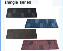 roofing tile hottest selling Classic colorful stone chip coated metal roof tile sheet