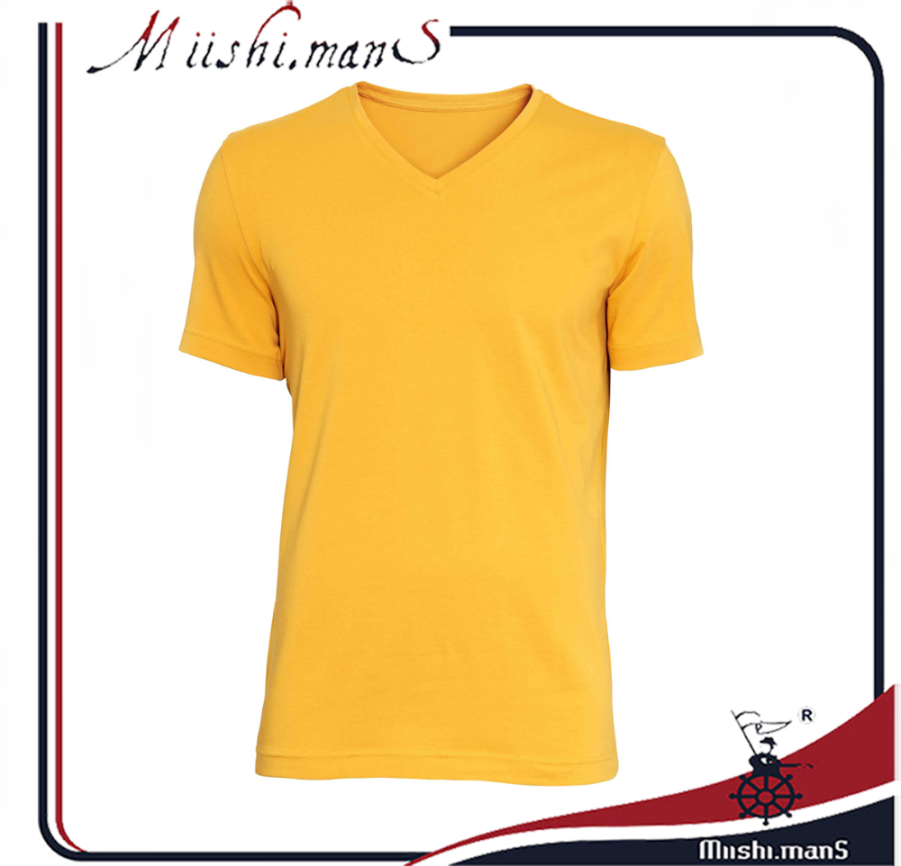 import t-shirts V-neck jersey designer clothing manufacturers in china