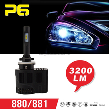 All-in- one H1 H7 H3 H8 H11 H16 9005 9006 auto led headlight bulb, motorcycle and car led headlight
