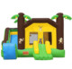 Jungle theme inflatable bounce house,Inflatable jungle jumping castles,jungle theme indoor playground