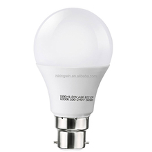 Dimmable 6500k day white soft white e27 plastic aluminum Led energy saving b22 led lamp bulb