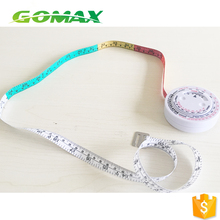 high quality funny plastic BMI body fat mass tape measure caliper with standard white health care product measuring tools