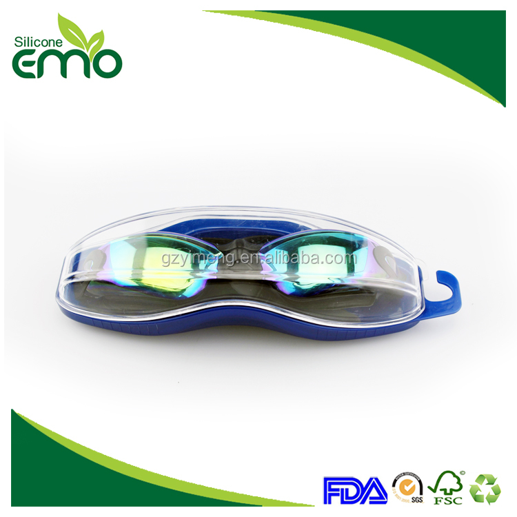 Customized Silicone Swimming Goggles Waterproof