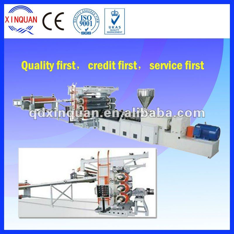 PVC paint free board plastic extruder machine
